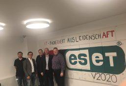Besuch der ESET Deutschland-Zentrale