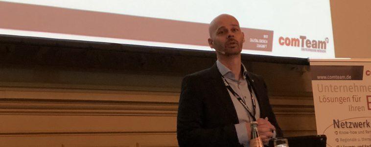 Innovationen & Trends auf der Partnerkonferenz der comTeam