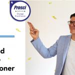 Kai Osthoff zertifiziert als Prosci® Certified Change Practitioner