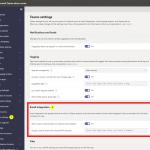 Email integration - Einstellungen im Microsoft Teams Admin Center