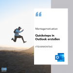 Quicksteps in Outlook