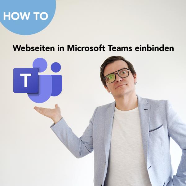 Webseiten in Teams